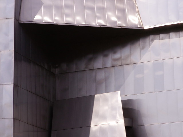 side of the Weisman Museum