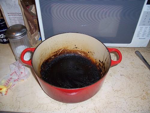 cooked le crueset