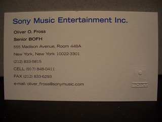 Sony Music Entertainment Inc Senior Bofh I Was Feeling E Flickr