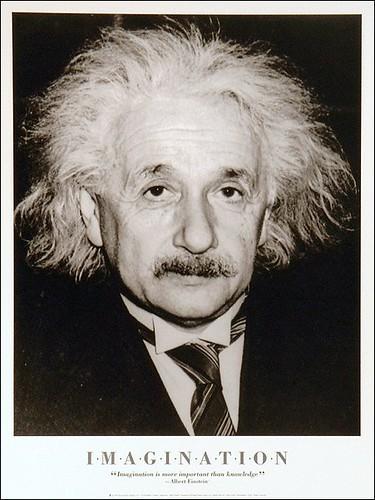 Albert_Einstein_Imagination | by WalkingGeek