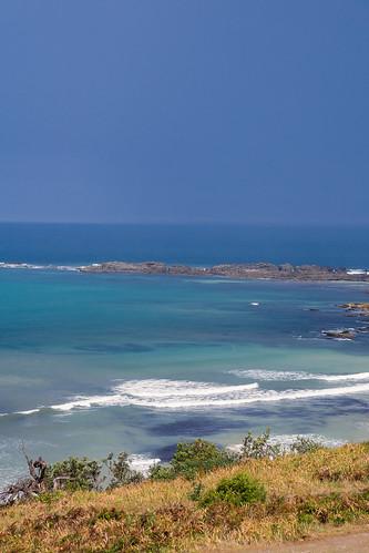 2016 australia diggerscamp nsw newsouthwales sonya6000 yuraygirnationalpark blue coastal ocean sea waves
