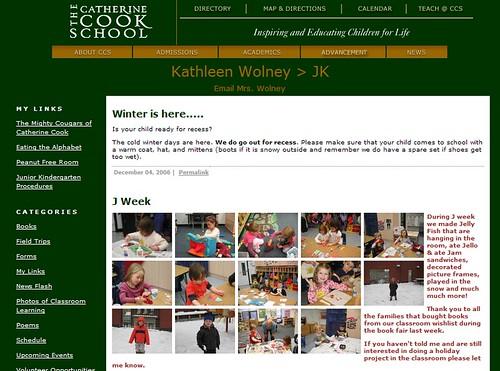 Catherine Cook School Teacher Sites