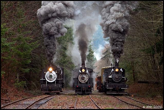 Steam Times Three