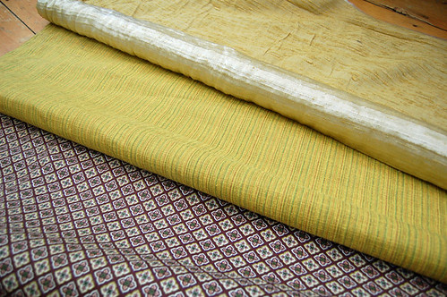 vintage upholstry fabric | by SouleMama