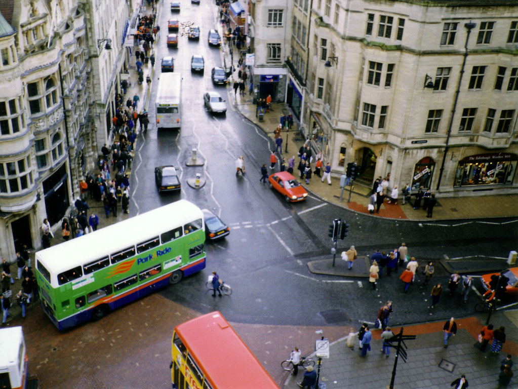 Carfax From Carfax Tower Oxford 1997 Taken Prior To The Flickr
