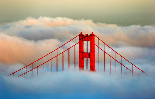 sanfrancisco california bridge sunset usa fog golden bay bravo gate san francisco goldengatebridge area sfchronicle96hrs abigfave bratanesque