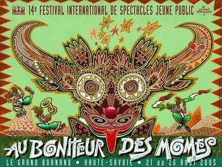Affiche Festival Au Bonheur des Momes-2005 | by Le Grand-Bornand