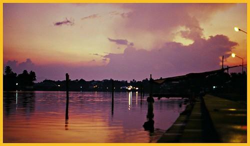 sunset catchycolors kerala alway aluva manappuram