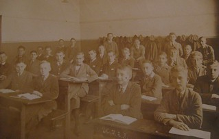Albert's class in Kant Realgynmasium Karlshorst - Dec 1927