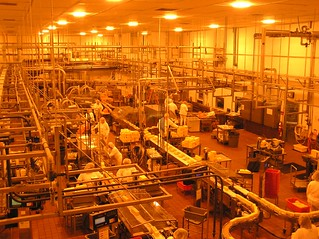 Cheese packaging assembly line | by Donna62