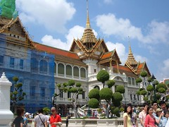 Grand Palace undergoing renovation, Bangkok