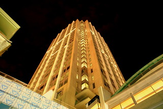 The RSA Battlehouse Tower at night | by ALalto