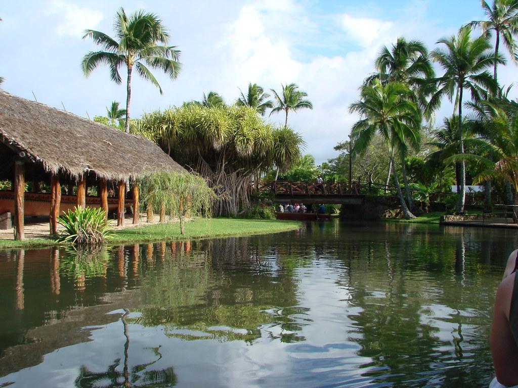 Polynesian Cultural Center Lagoon Canal