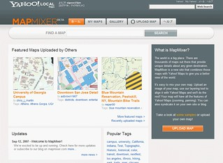 Yahoo! Map Mixer | by sigeos15jm