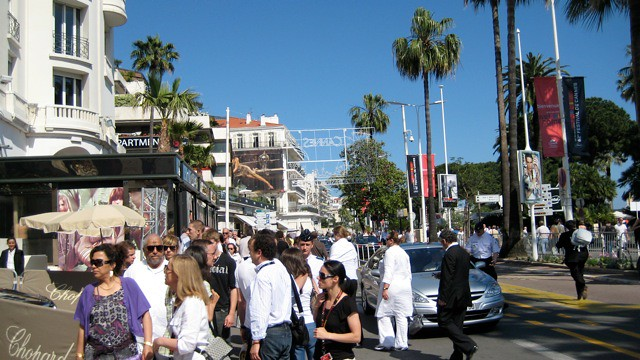 Adrienne Papp at the Cannes 2008