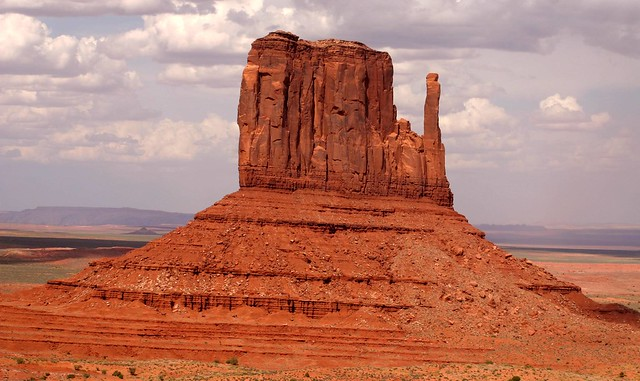 One of the famous sights in Monument Valley
