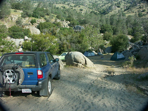 Beach Camping Kern River