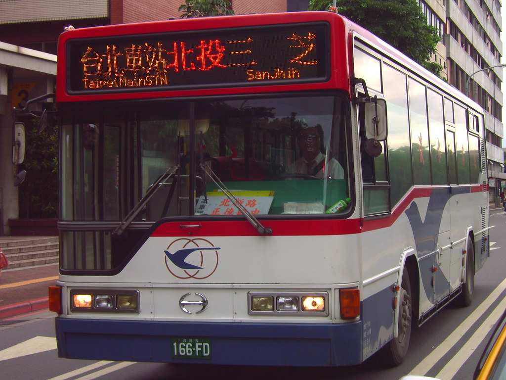 TamshuiBus_166FD_Front