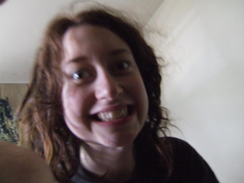 Sarah Stambaugh - excited
