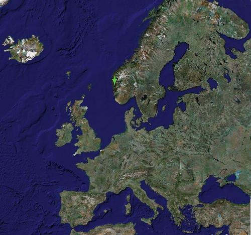 Europa Mapa De Europa Sacado De Google Maps Zentolos Flickr