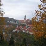 Cesky Krumlov in autumn