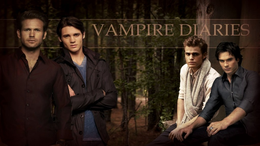 Vampire Diaries Boys Wallpaper A Wallpaper Made By Moi J