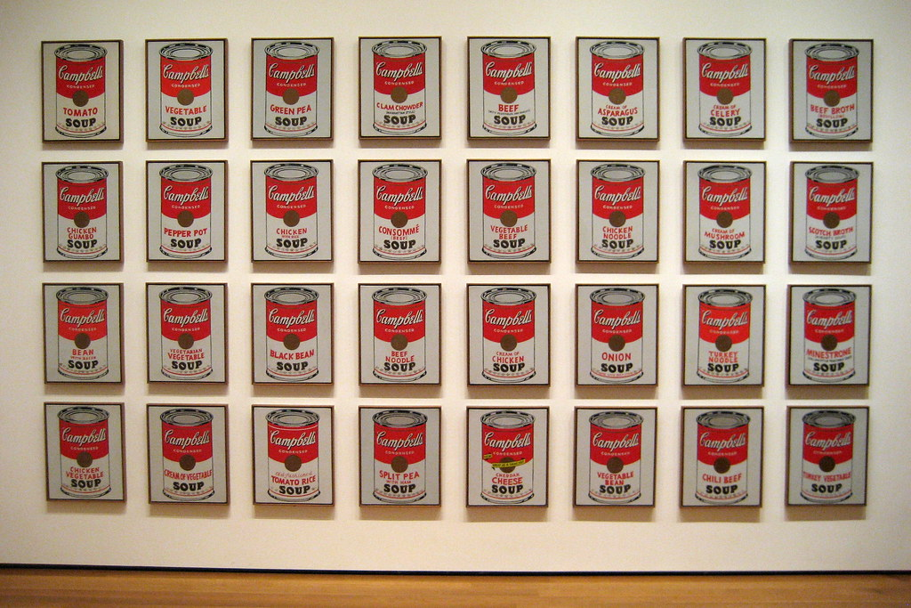 Campbell's Soup Cans, Andy Warhol