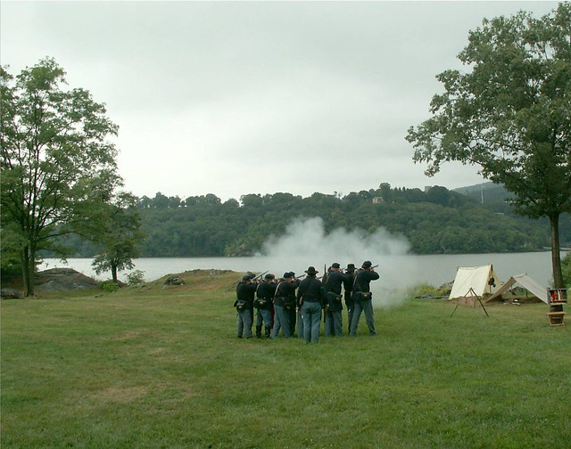 Firing at West Point with Rifle