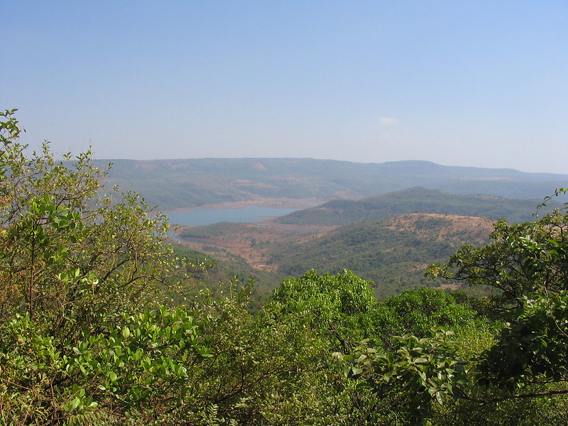 Konkan as seen from Dajipur National Park