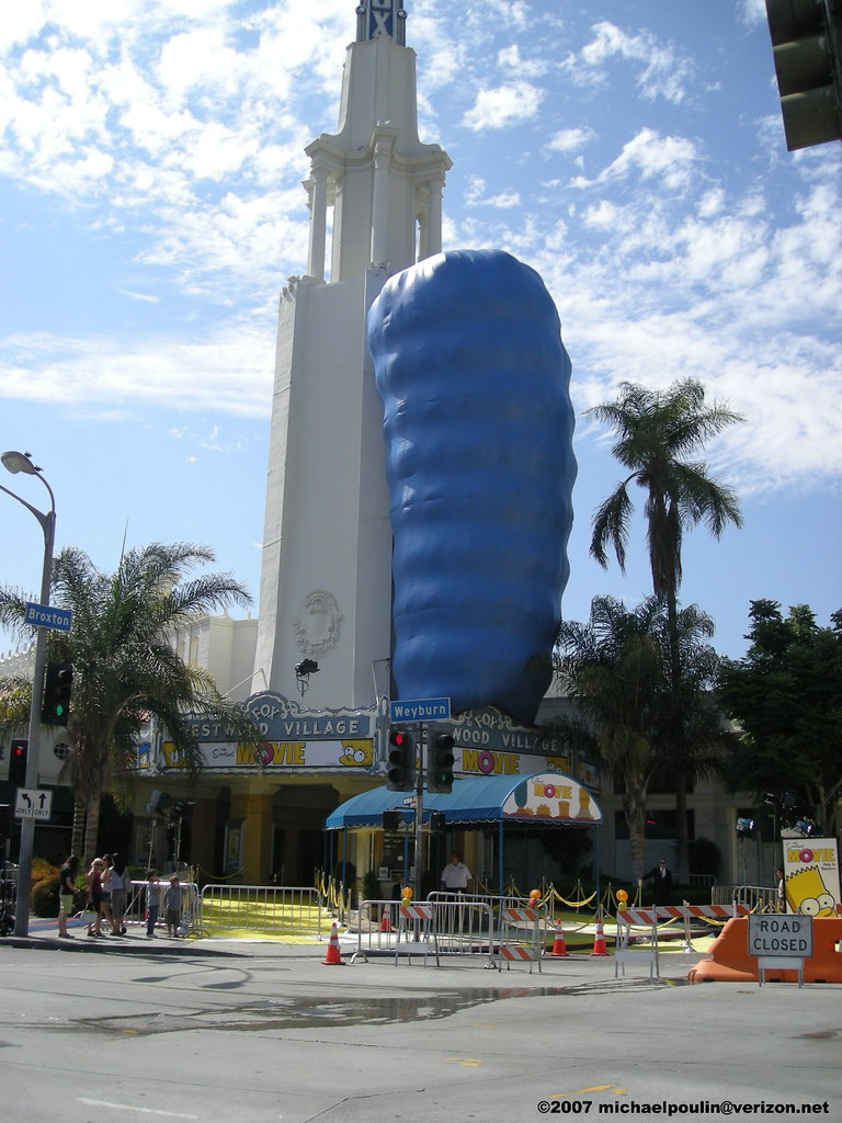 Fox Westwood Village Theatre California The Simpsons Movie Flickr