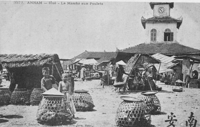 Chợ đong Ba Xưa Nguyen Van Vinh Flickr