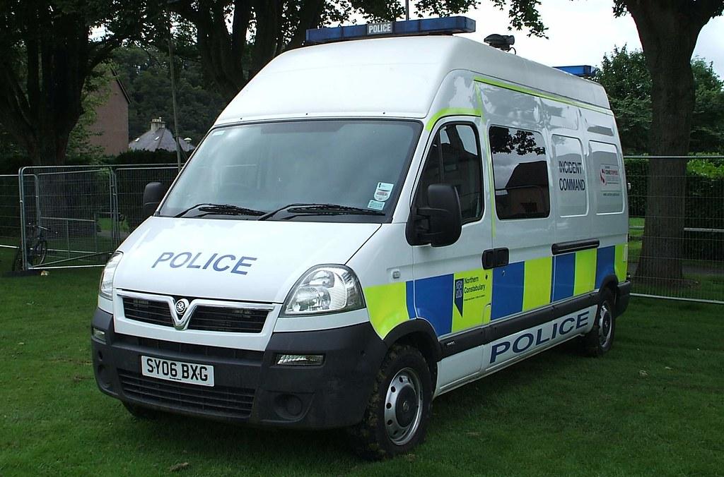Northern Constabulary - Vauxhall van