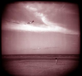 beach kite | by Laura Burlton - www.lauraburlton.com