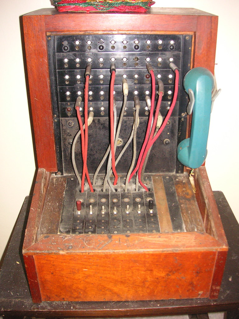 Miraculous Old Telephone System From Hotel Cristal In Caracas Beatrice Wiring 101 Capemaxxcnl