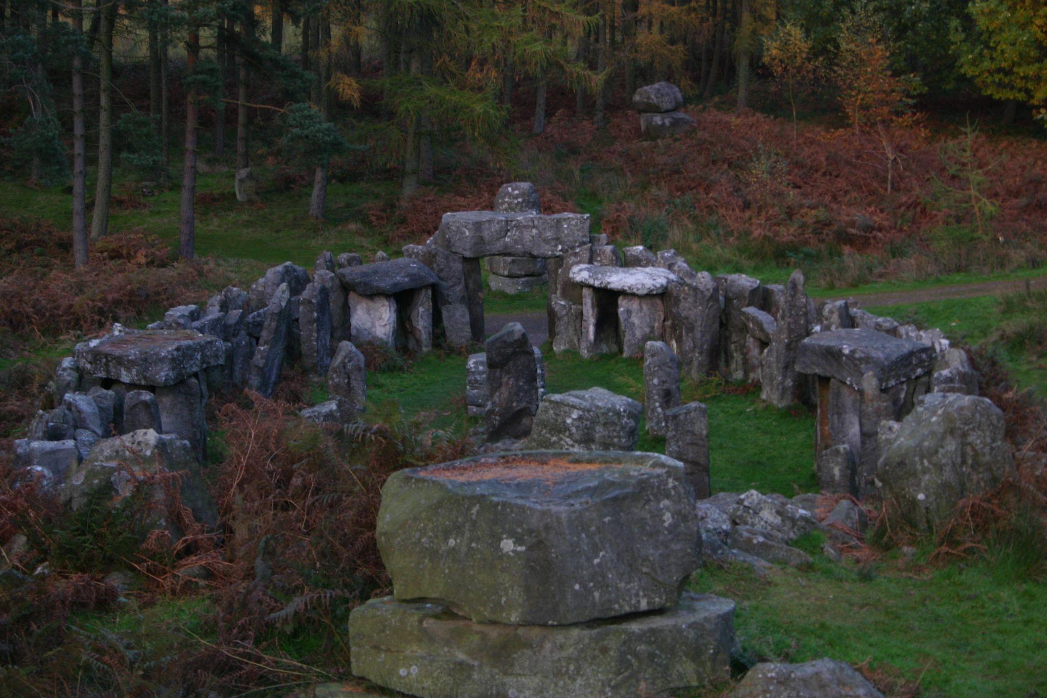Druid's Temple, New Swinton Hall , Yorkshire (Folly)