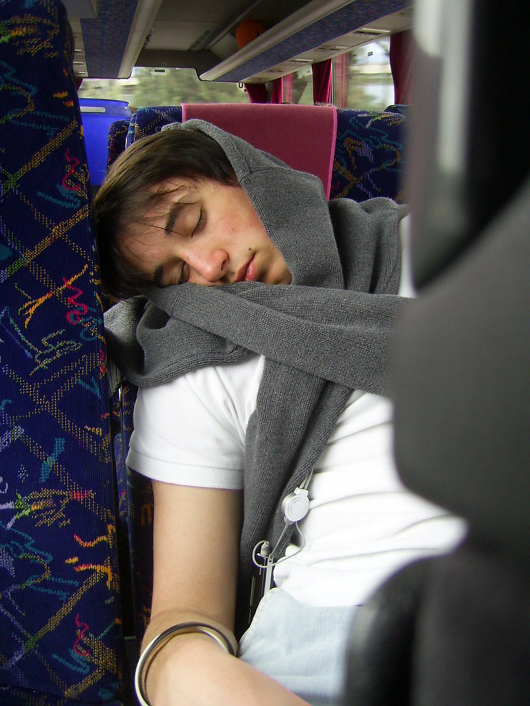 Casual Guy - Sleeping In The Bus