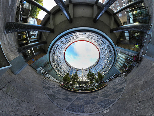 BBC Television Centre - 360 panorama   by strollerdos