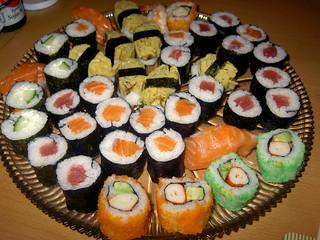 sushi leftovers