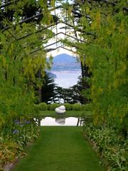 Garden at Larnach Castle