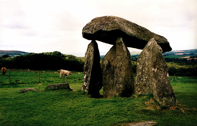 Ancient dolmen in ireland