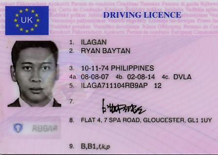 Licence Ilagan Flickr Driving My Uk Rb