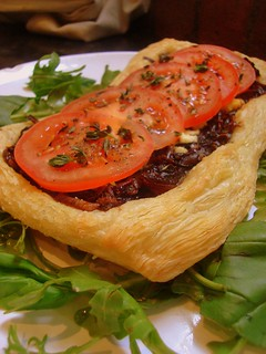 Tomato Tart | by Girl Interrupted Eating