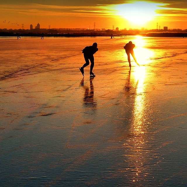 Skating back home