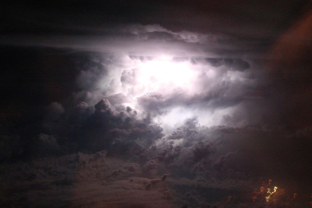 Lightning Storm Over Dallas