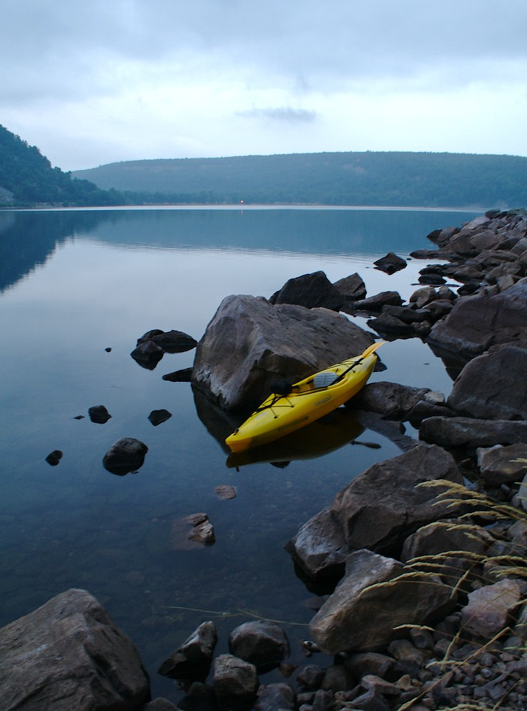 Devil's Lake State Park Wisconsin | .8 sec handheld | Jim ...