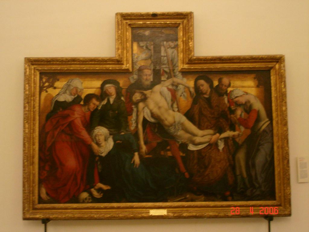 El Descendimiento De La Cruz Roger Van Der Weyden Museo Flickr
