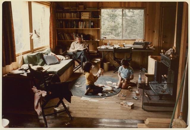 making puppets, 1973