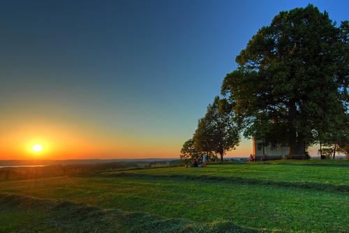 HDR: Sunset over Lake Starnberg by Dirk Paessler