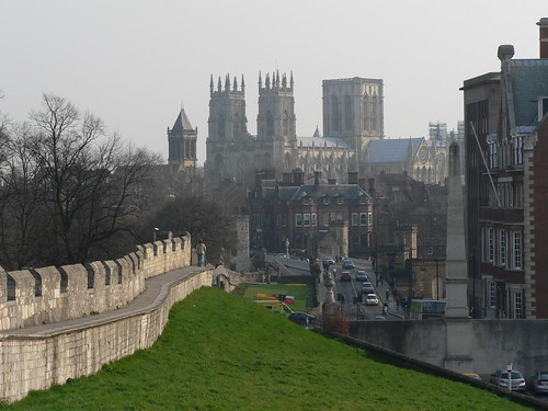 York Minster from the Roman walls | by James Preston