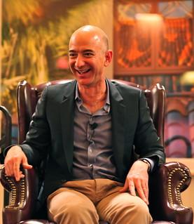 Bezos' Iconic Laugh | by jurvetson
